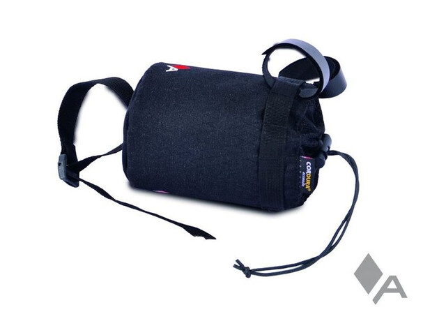 Acepac Fat Bottle Bag black